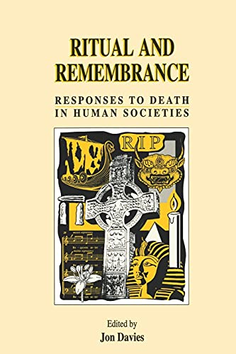 9781850754695: Ritual and Remembrance: Responses to Death in Human Societies