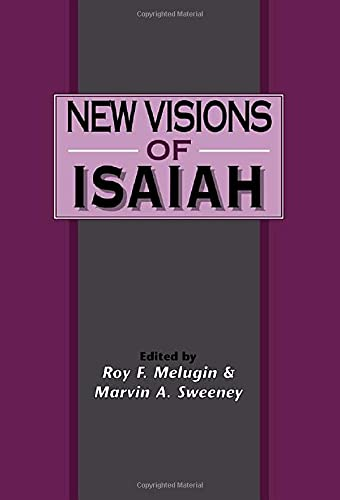 9781850755845: New Visions of Isaiah (Journal for the Study of the Old Testament. Supplement Series, 214)