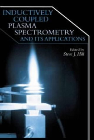 9781850759362: Inductively coupled plasma spectrometry and its applications