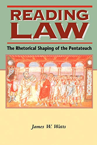 9781850759973: Reading Law: The Rhetorical Shaping of the Pentateuch (Biblical Seminar)