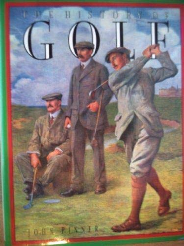 9781850761136: THE HISTORY OF GOLF