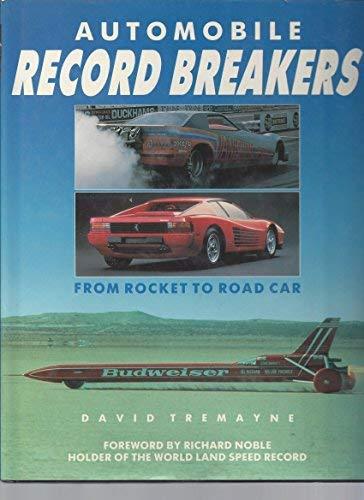 9781850761853: Automobile Record Breakers