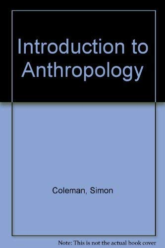 9781850762270: Introduction to Anthropology