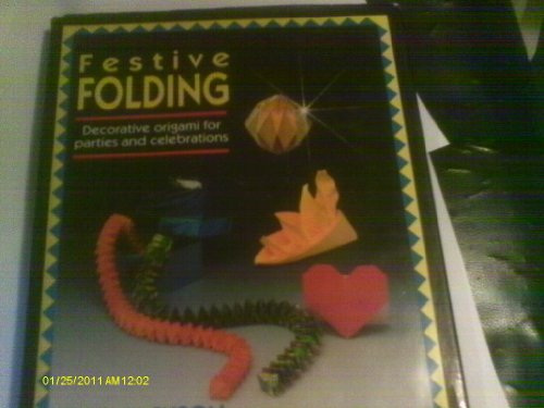 9781850763246: Festive folding: decorative origami for parties and celebrations