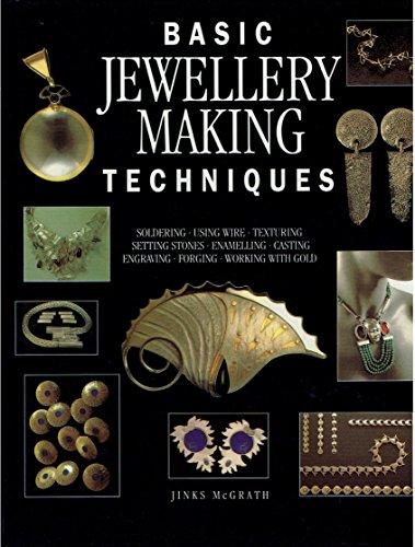9781850764540: BASIC JEWELLERY-MAKING TECHNIQUES