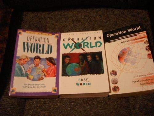 9781850781202: Operation World: A Day-to-day Guide to Praying for the World