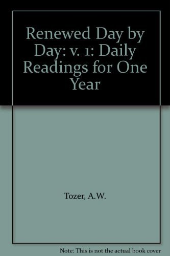 9781850782322: Renewed Day by Day: v. 1: Daily Readings for One Year
