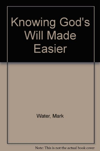 9781850783244: Knowing God's Will Made Easier