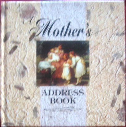 9781850810810: Mothers Address Book -Rfs1395