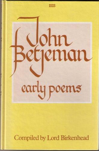 John Betjeman's Early Poems: Birkenhead, Lord