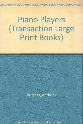 9781850892588: Pianoplayers (Transaction Large Print Books)