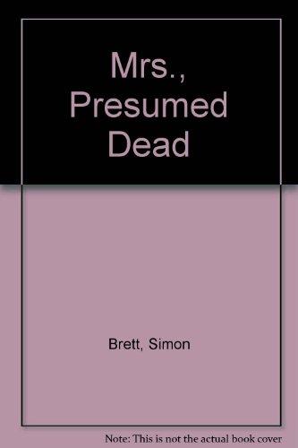 9781850892892: Mrs., Presumed Dead