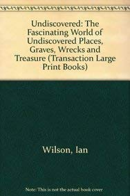9781850893202: Undiscovered (Transaction Large Print Books)