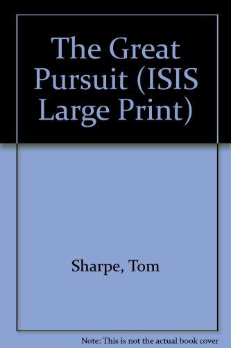 9781850893820: The Great Pursuit (Transaction Large Print Books)