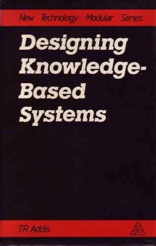 9781850912514: Designing Knowledge Based Systems (New Technological Modular S)