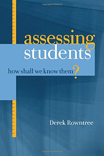 9781850913009: Assessing Students: How Shall We Know Them?