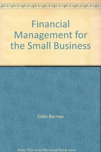 9781850915669: Financial Management for the Small Business