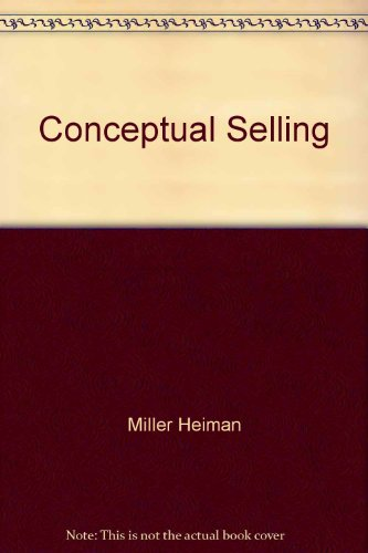 9781850916772: Conceptual Selling