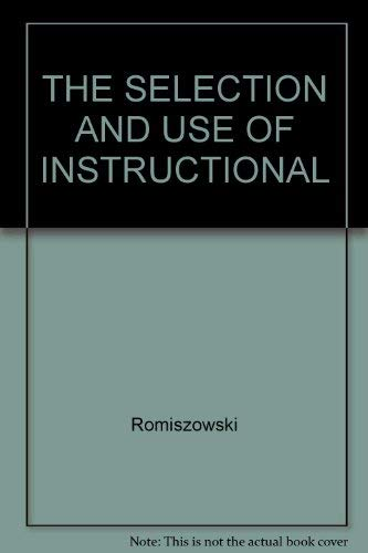 9781850917786: THE SELECTION AND USE OF INSTRUCTIONAL
