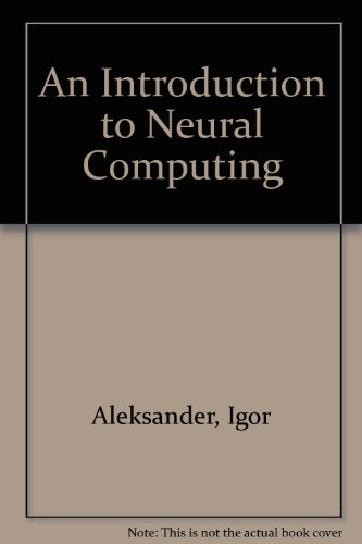 9781850919094: An Introduction to Neural Computing