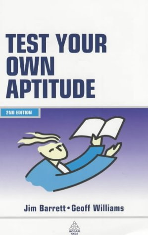 Test Your Own Aptitude: Williams, Geoffrey,Barrett, James