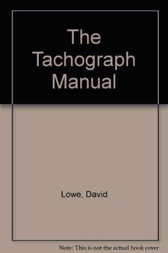 9781850919339: The Tachograph Manual