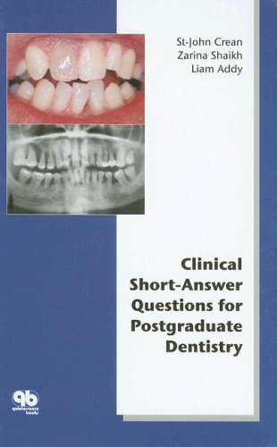 9781850971023: Clinical Short-Answer Questions for Postgraduate Dentistry
