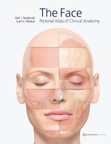 The Face: Pictorial Atlas of Clinical Anatomy: Ralf J. Radlanski,
