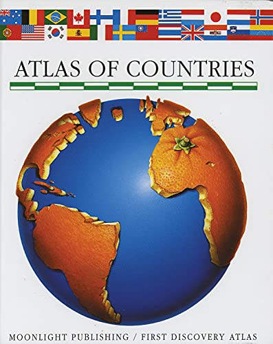 9781851032358: Atlas of Countries (First Discovery/Atlas)