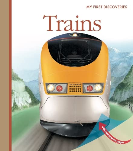 9781851034000: Trains (My First Discoveries)