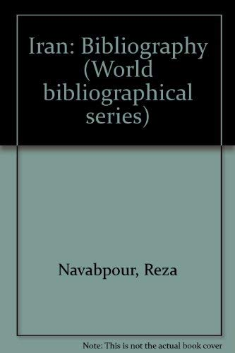 9781851090365: Iran (World Bibliographical Series)