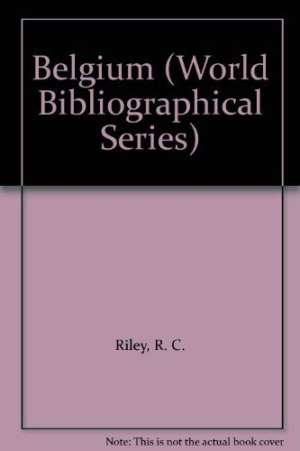 9781851090990: Belgium (World Bibliographical Series)