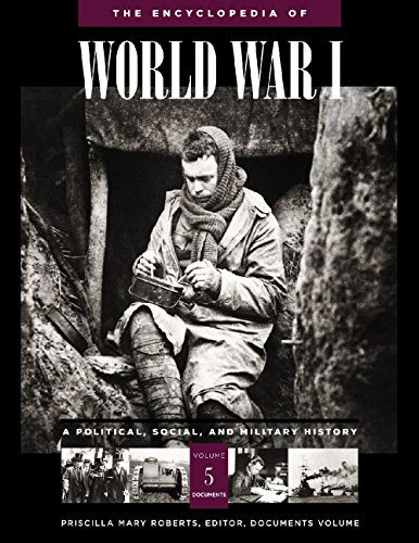 9781851094202: The Encyclopedia of World War I [5 volumes]: A Political, Social, and Military History