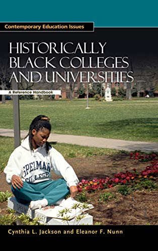 9781851094226: Historically Black Colleges and Universities: A Reference Handbook (Contemporary Education Issues)