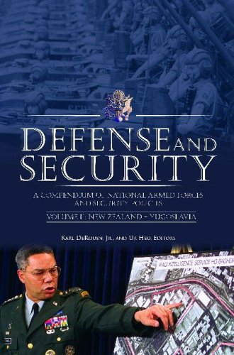 Defense and Security : A Compendium of: DeRouen, Karl R.