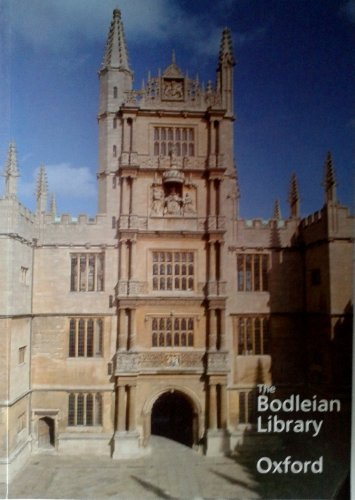 9781851240630: The Bodleian Library: a Guide