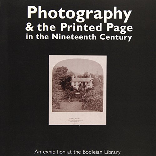 9781851240661: Photography and the Printed Page in the 19th Century