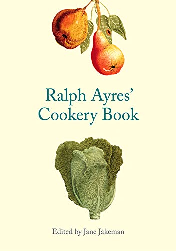 9781851240753: Ralph Ayres' Cookery Book
