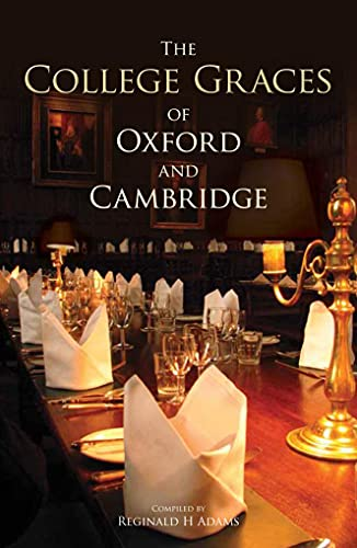 9781851240838: The College Graces of Oxford and Cambridge