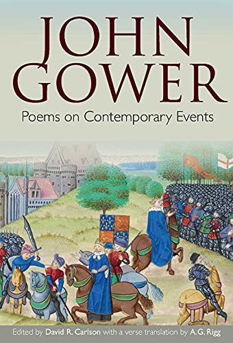 John Gower: Poems on Contemporary Events (Hardback)