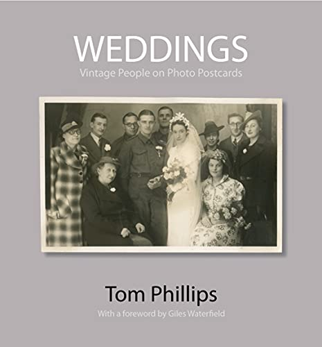 9781851243693: Weddings: Vintage People on Photo Postcards (The Bodleian Library - Photo Postcards from the Tom Phillips Archive)