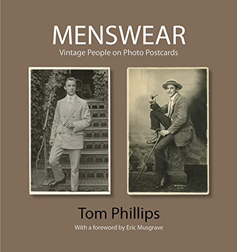 9781851243785: Menswear: Vintage People on Photo Postcards (The Bodleian Library - Photo Postcards from the Tom Phillips Archive)