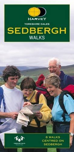 Yorkshire Dales Sedbergh Walks: Harvey Map Services Ltd