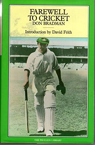 9781851452248: Farewell to Cricket (Cricket Library S.)