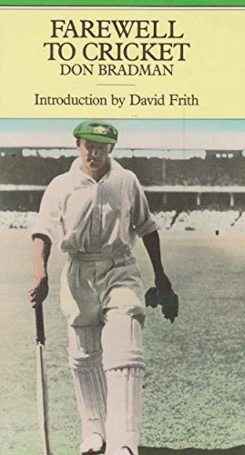 9781851452255: Farewell to Cricket (Cricket Library S.)