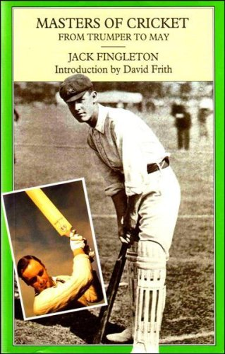 9781851454570: Masters of Cricket