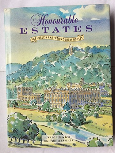 9781851455355: Honourable Estates: The English and Their Country Houses