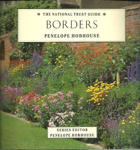 9781851458547: Borders (The National Trust Gardening Guides)
