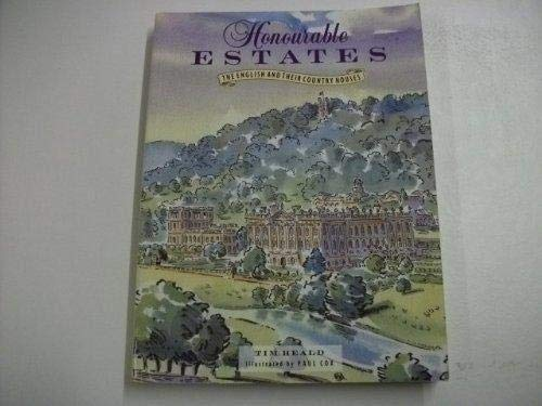 9781851459155: Honourable Estates: English and Their Country Houses