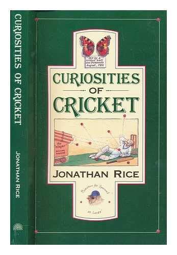 Curiosities of Cricket: JONATHAN RICE